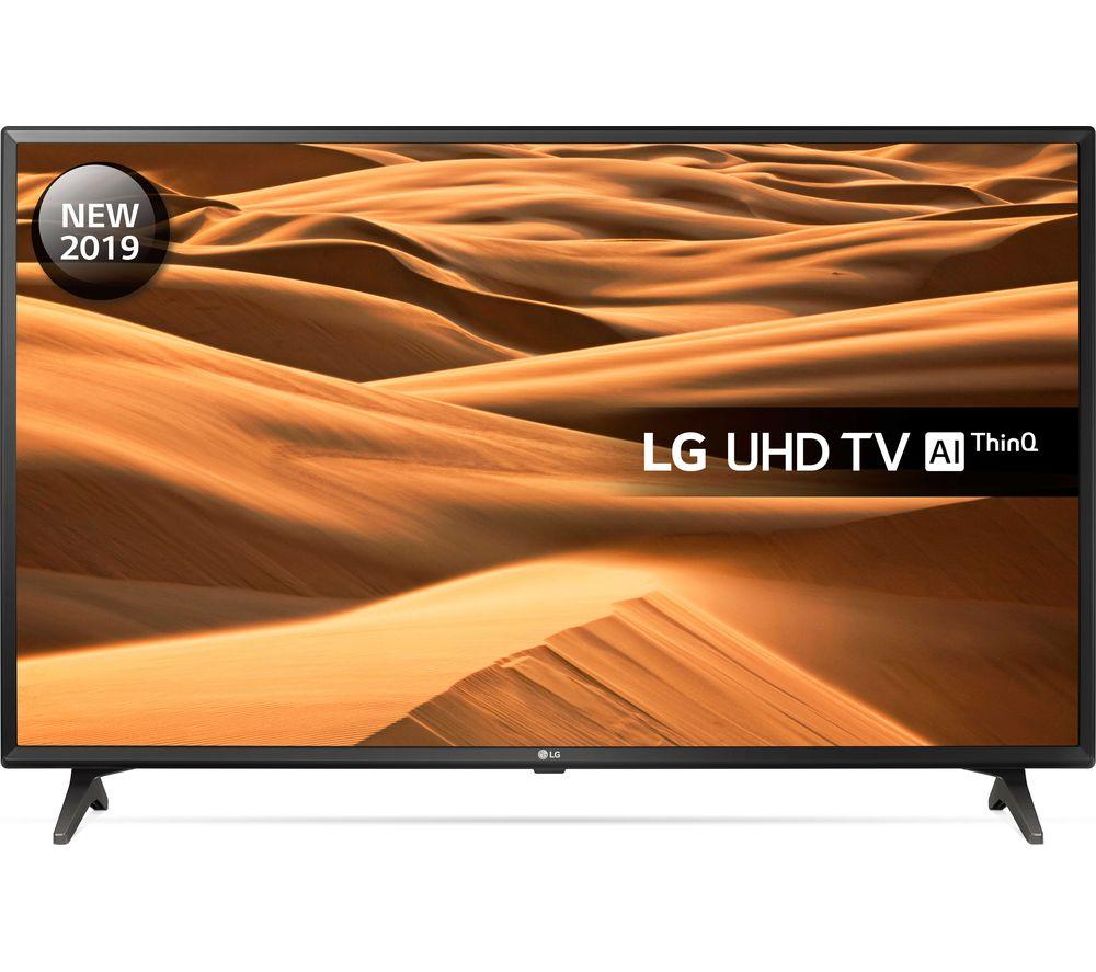 """LG 49UM7000PLA 49"""" Smart 4K Ultra HD HDR LED TV"""