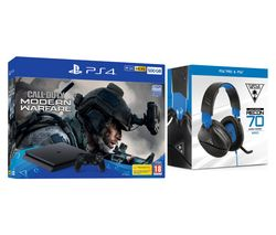 SONY PlayStation 4 with Call of Duty: Modern Warfare & Recon 70P 2.1 Gaming Headset Bundle