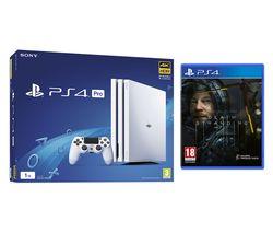 SONY PlayStation 4 Pro & Death Stranding Bundle - White