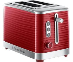 RUSSELL HOBBS Inspire 24372 2-Slice Toaster - Red