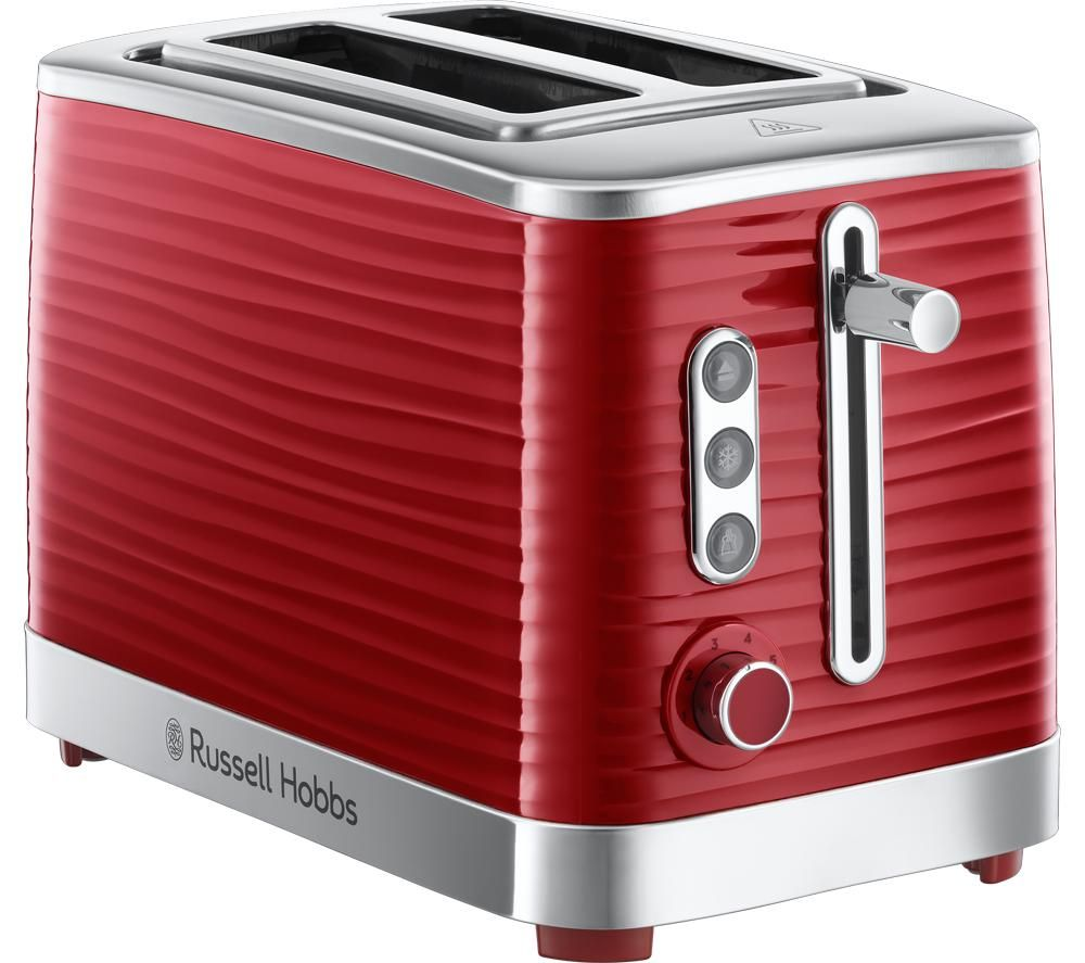 Inspire 24372 2-Slice Toaster - Red, Red