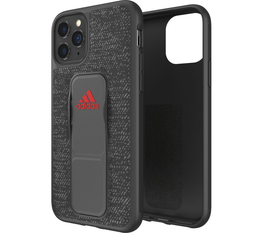 ADIDAS iPhone 11 Pro Max Sport Grip Case - Black, Black
