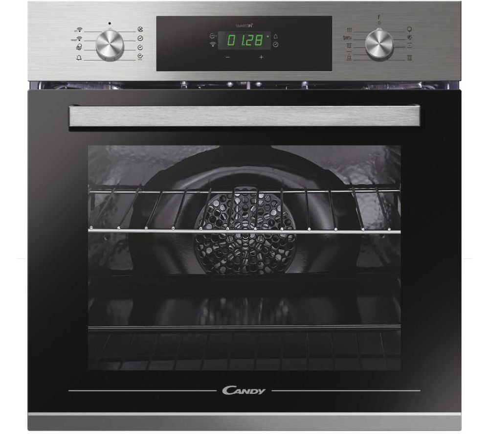 Candy Fct686x Wifi Electric Smart Oven Stainless Steel Black Stainless Steel