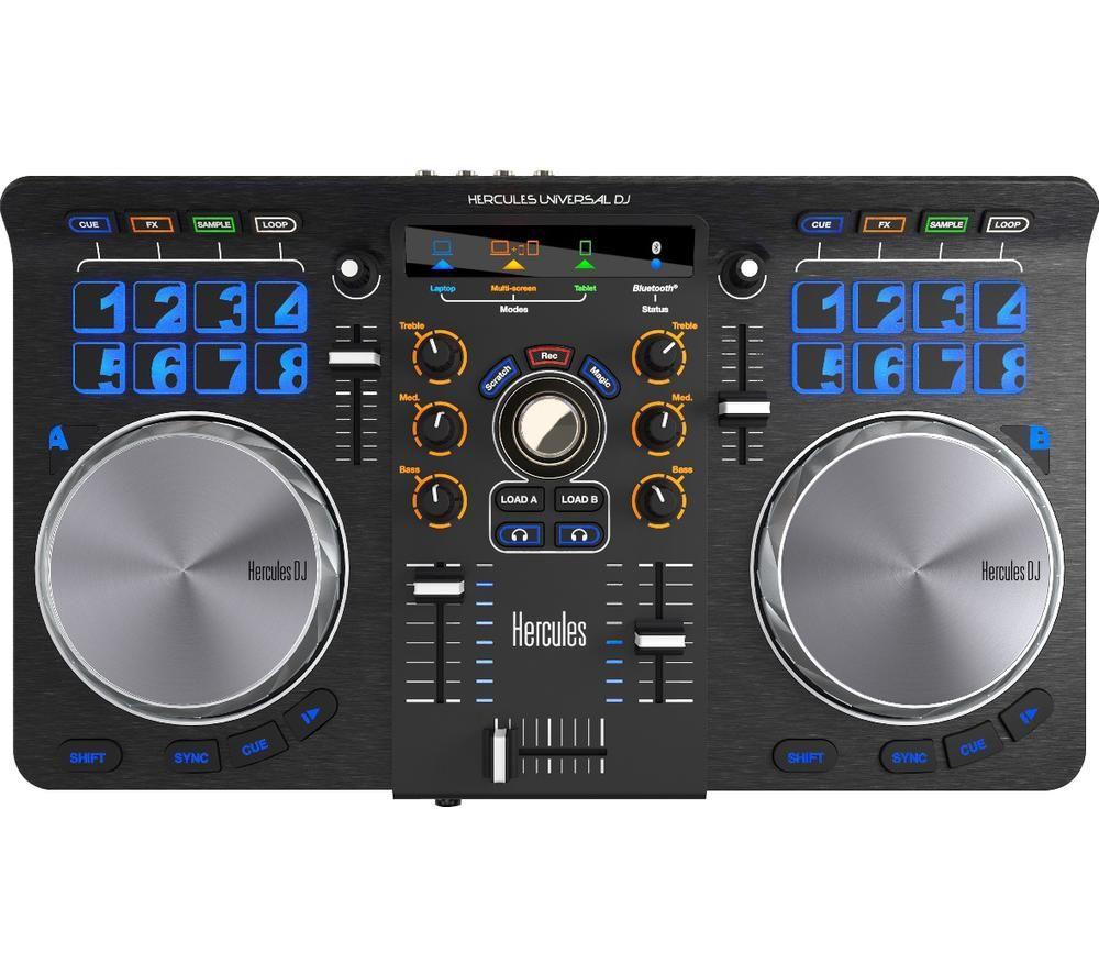 HERCULES Universal DJ Controller - Black