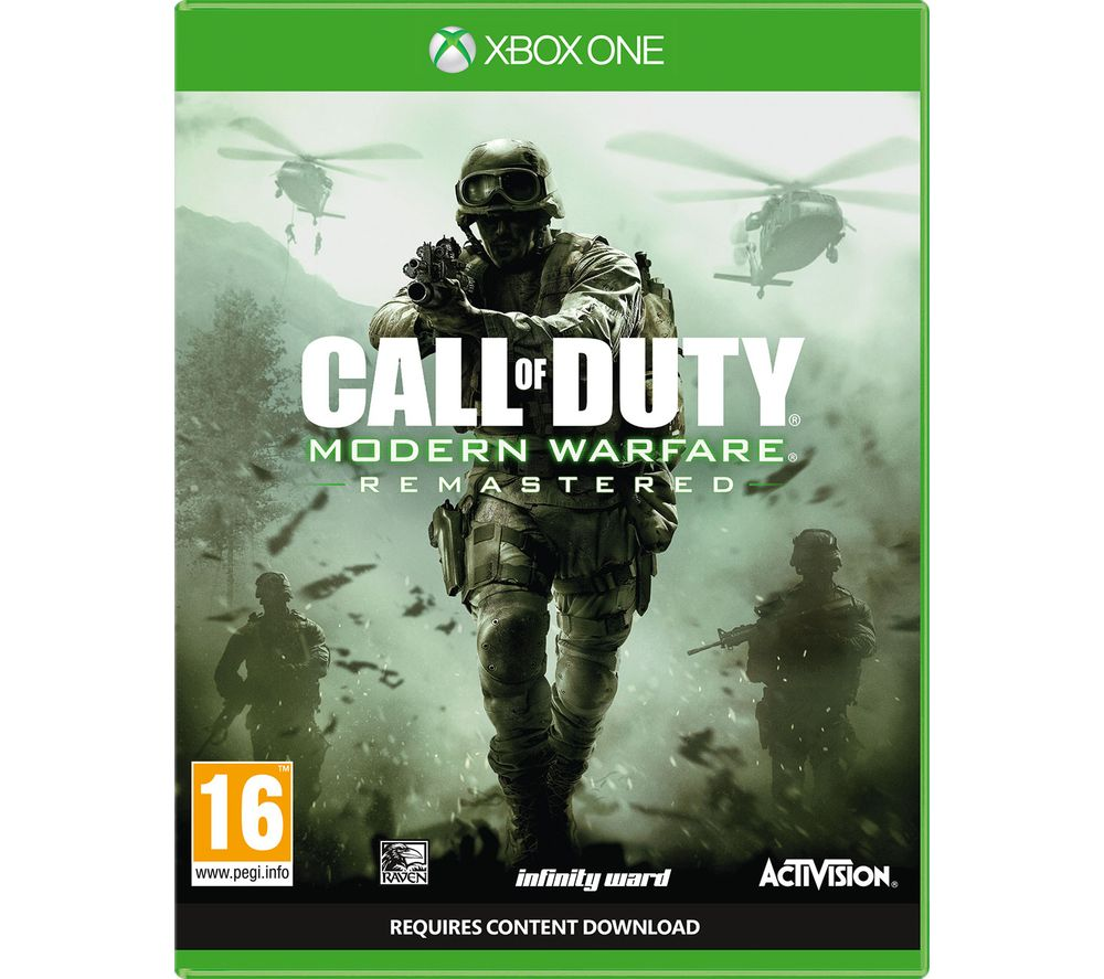 Image of XBOX ONE Call of Duty: Modern Warfare Remastered