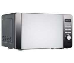 DAEWOO Callisto Solo Microwave - Stainless Steel Best Price, Cheapest Prices