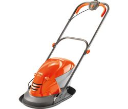 HoverVac 250 Corded Hover Lawn Mower - Orange & Grey