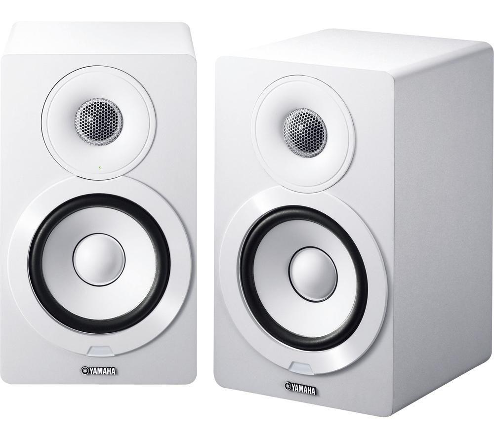 YAMAHA MusicCast NX-500 2.0 Bluetooth Monitor Speakers - White