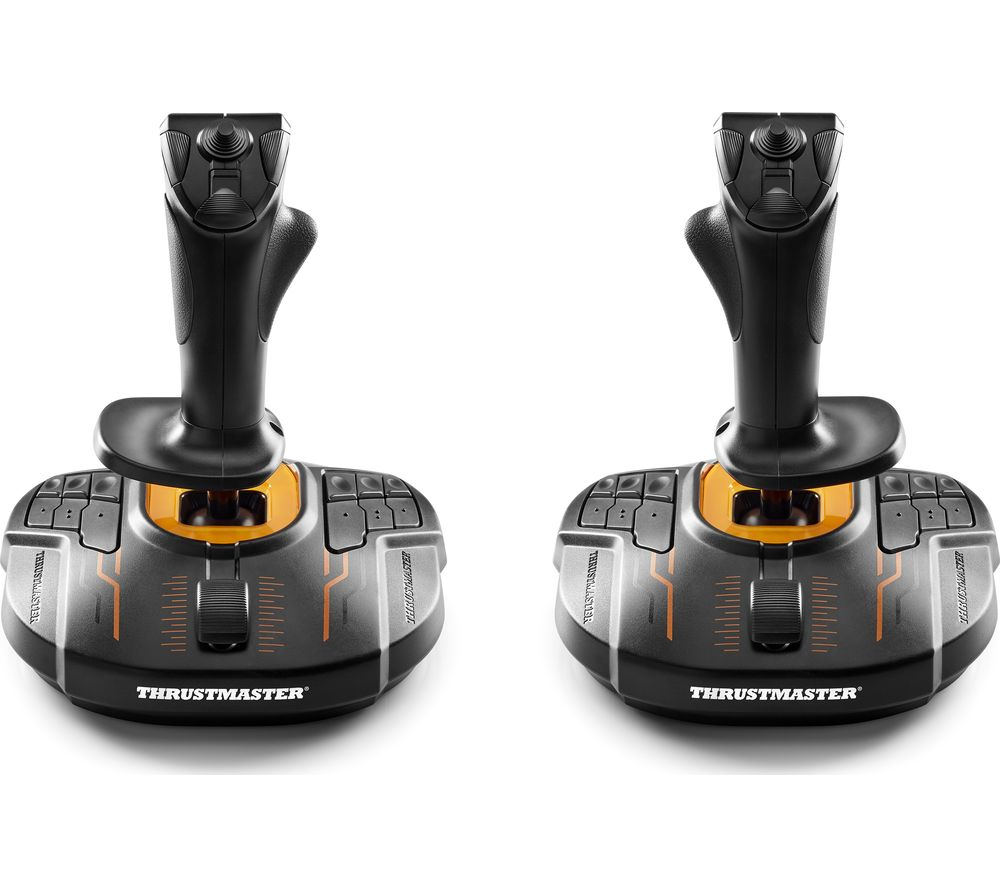 THRUSTMASTER T.16000M FCS Space Sim Duo Joysticks - Black