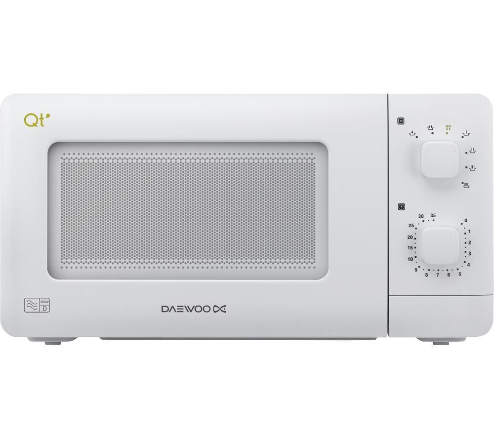 DAEWOO QT1R Solo Microwave - White, White