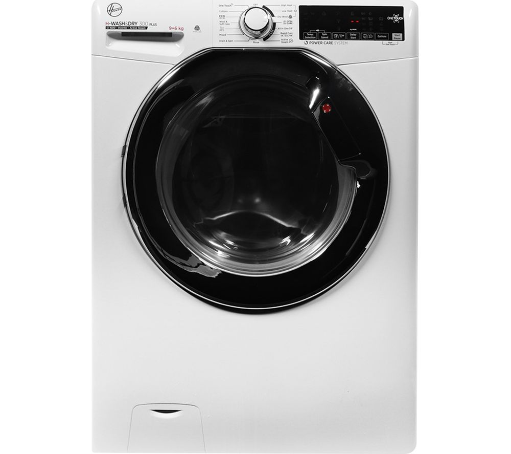 HOOVER H-Wash 300 H3DS696TAMCE NFC 9 kg Washer Dryer - White