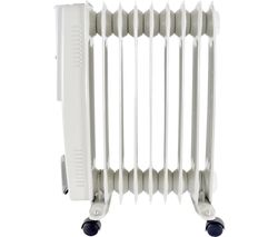 F2603GR Portable Oil-Filled Radiator - Grey