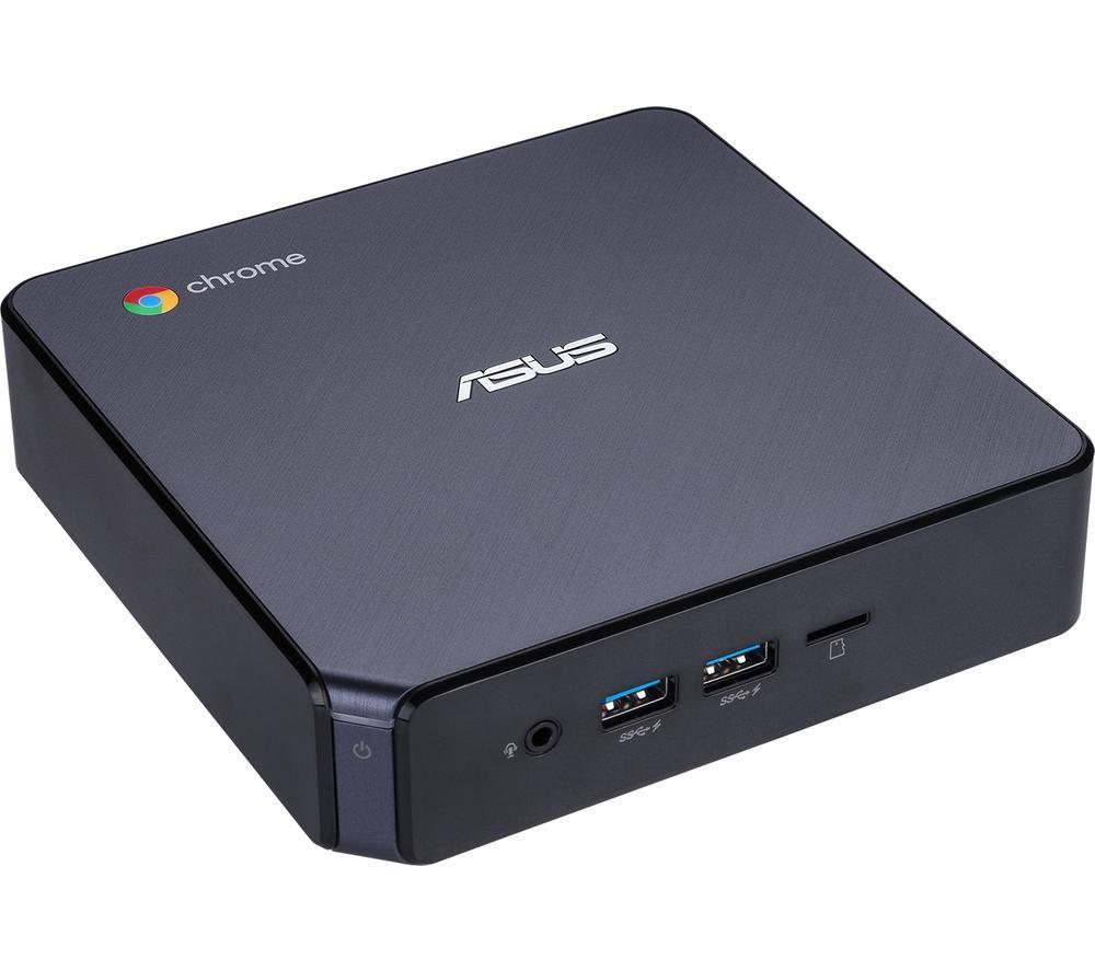 ASUS Chromebox 3 Mini Desktop PC - Intel® Celeron™, 32 GB SSD, Black