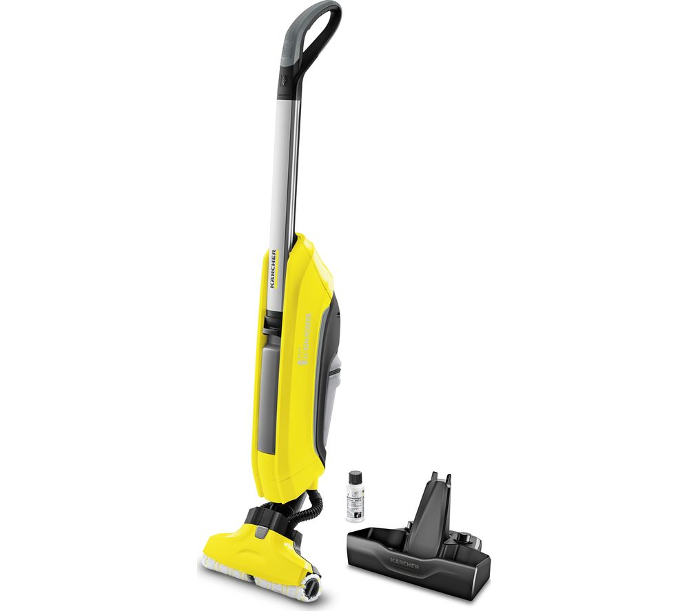 KARCHER FC 5 Cordless Hard Floor Cleaner – Yellow, Yellow