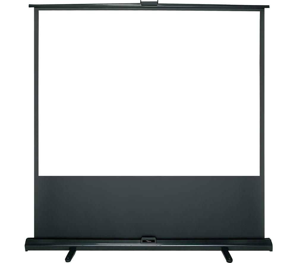 "OPTOMA Panoview DP-3084MWL 84"" Portable Pull Up Projector Screen"