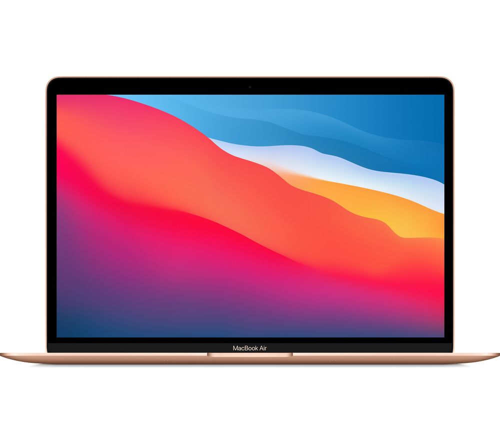 Image of Apple MacBook Air 13-inch, Apple M1 chip, 8-core CPU, 8-core GPU, 8GB/512GB SSD - Gold