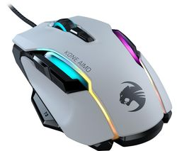 Kone AIMO RGB Optical Gaming Mouse - White