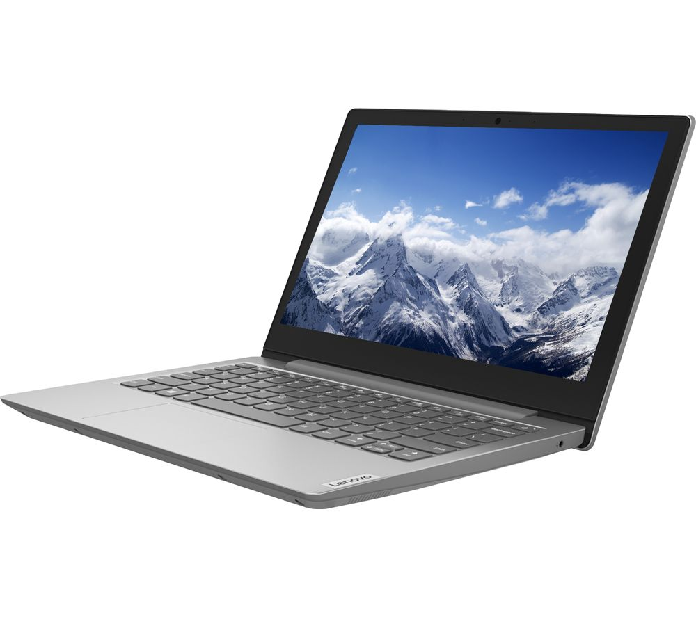 "LENOVO IdeaPad Slim 1 11.6"" Laptop - AMD Athlon Silver, 64 GB eMMC, Grey"