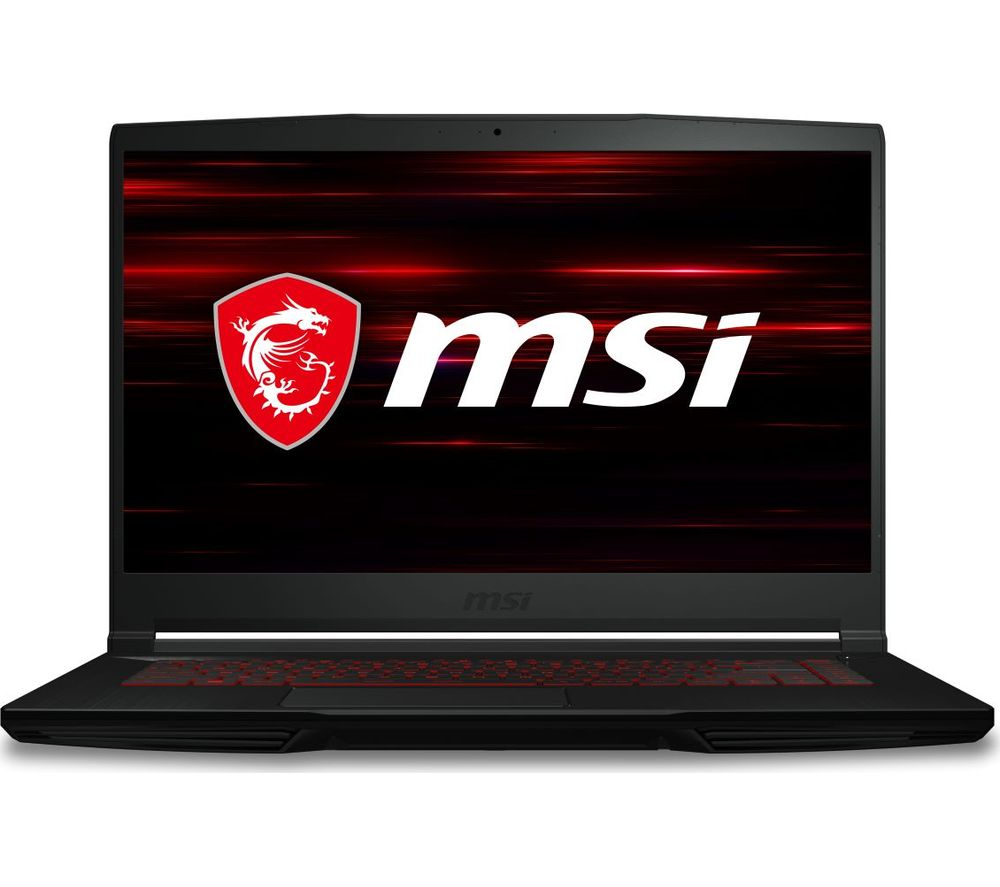 "Image of MSI GF63 Thin 15.6"" Gaming Laptop - Intel®Core™ i5, GTX 1650 Ti, 256 GB SSD"