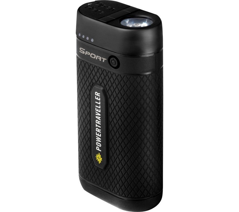 POWERTRAVELLER Sport 25 Portable Power Bank - Black