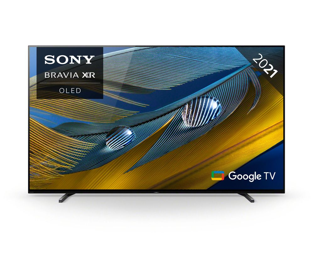 """SONY BRAVIA XR65A80JU 65"""" Smart 4K Ultra HD HDR OLED TV with Google TV & Assistant"""