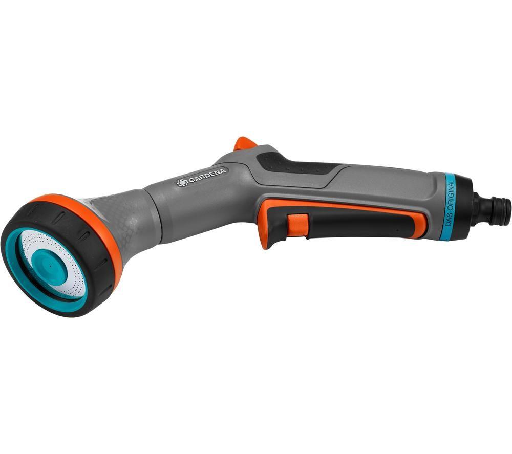 GARDENA 18321-20 Comfort Sensitive Plant Spray Gun - Silver & Black, Silver