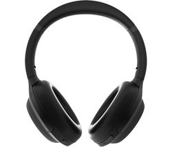 ANC oE500 Wireless Bluetooth Noise-Cancelling Headphones - Black