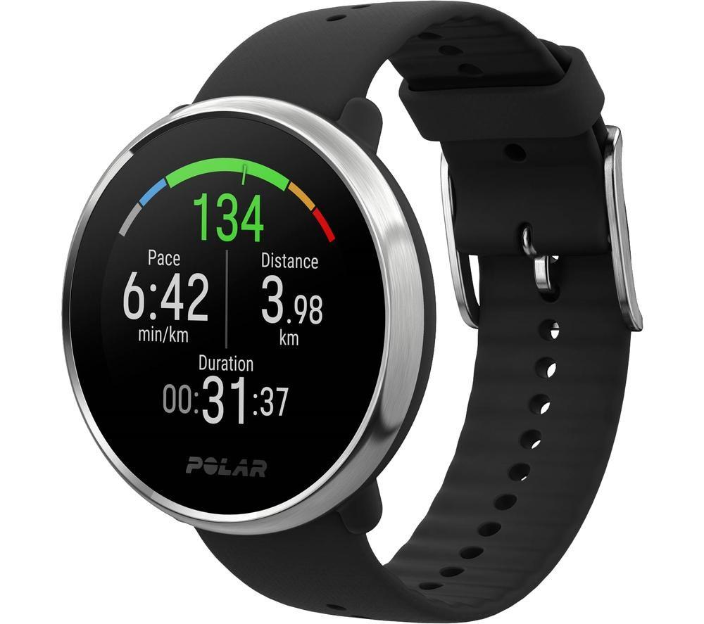 POLAR Ignite Smartwatch - Black, Small, Black