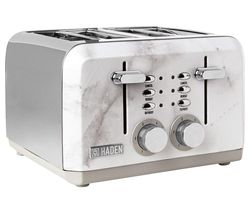 Cotswold 198808 4-Slice Toaster - Marble