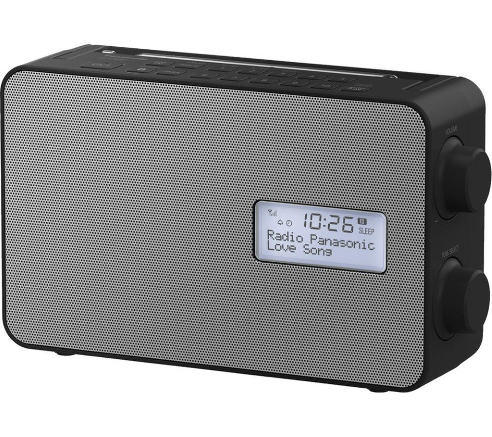 PANASONIC RF–D30BTEB-K Portable DAB+/FM Bluetooth Radio - Black