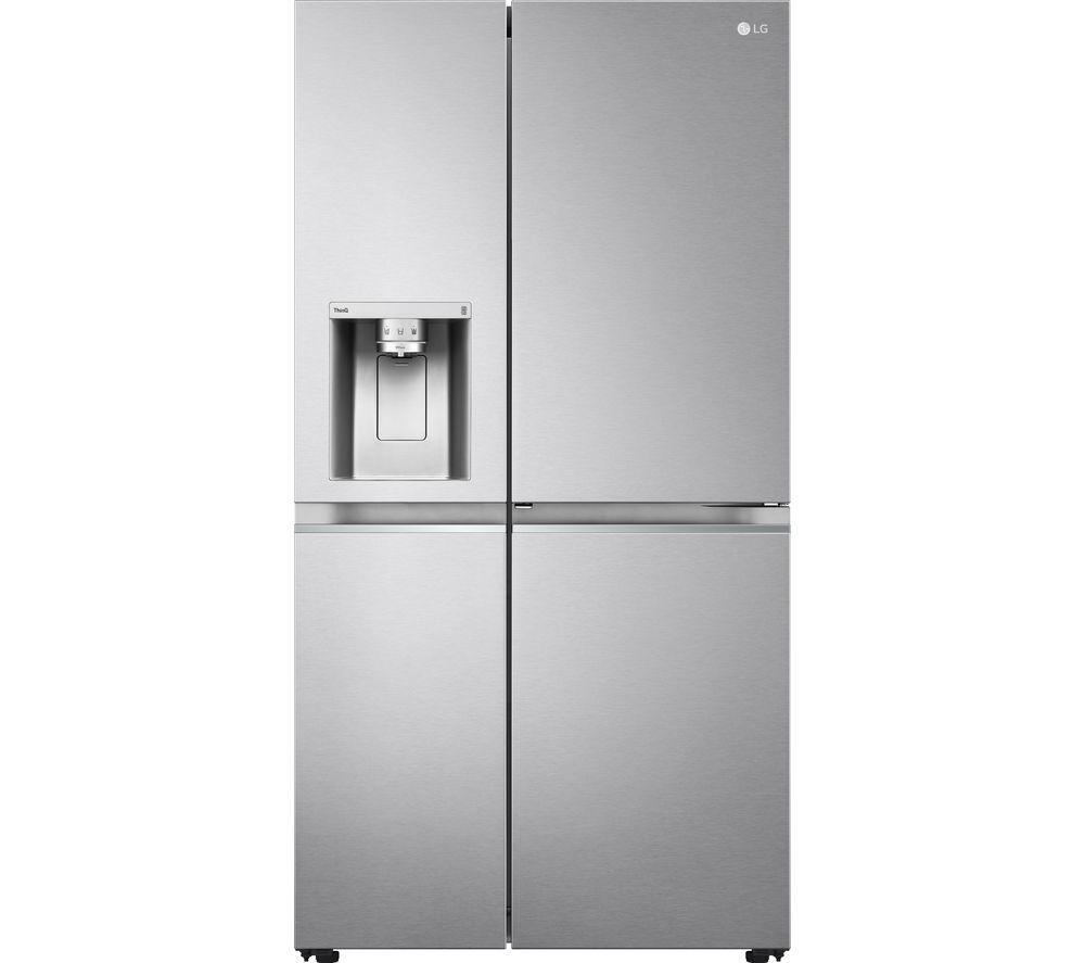 LG Door-in-Door GSJV91BSAE American-Style Smart Fridge Freezer – Stainless Steel, Stainless Steel