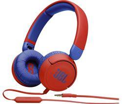 Jr310 Kids Headphones - Blue & Red