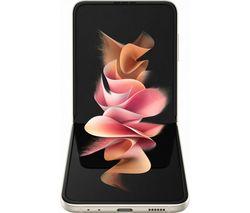Galaxy Z Flip3 5G - 128 GB, Cream