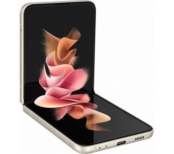Samsung Galaxy Z Flip3 5G - 128 GB, Cream 2