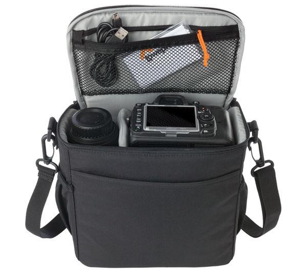 Buy LOWEPRO Format 160 DSLR Camera Bag - Black | Free Delivery ...