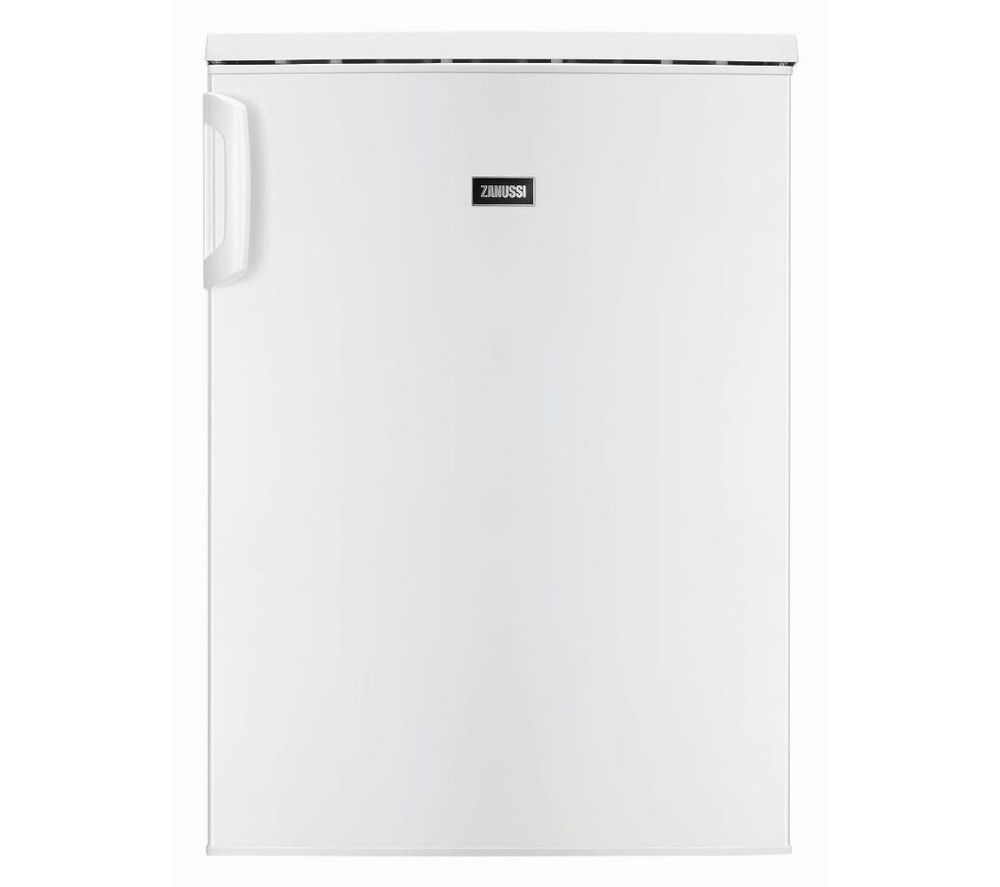 ZANUSSI ZRG16601WA Undercounter Fridge - White + ZWF71443W Washing Machine - White