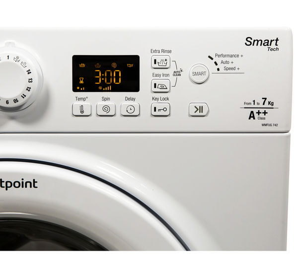 Buy Hotpoint Wmfug742p Smart Washing Machine White
