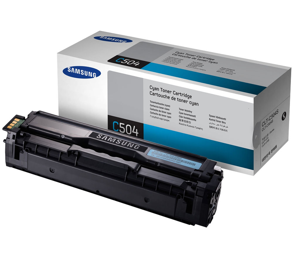 Compare prices for Samsung C504S Cyan Toner Cartridge - Cyan