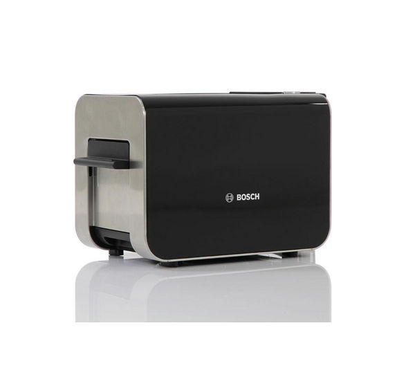 buy bosch styline tat8613gb 2 slice toaster black free delivery currys. Black Bedroom Furniture Sets. Home Design Ideas