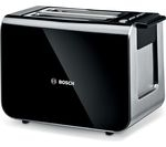 BOSCH Styline TAT8613GB 2-Slice Toaster - Black