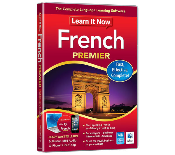 Image of AVANQUEST Learn It Now - French