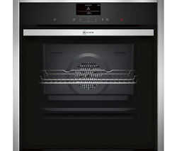 NEFF B47CS34N0B Slide and Hide Electric Oven - Stainless Steel