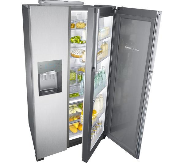 how to clean samsung fridge
