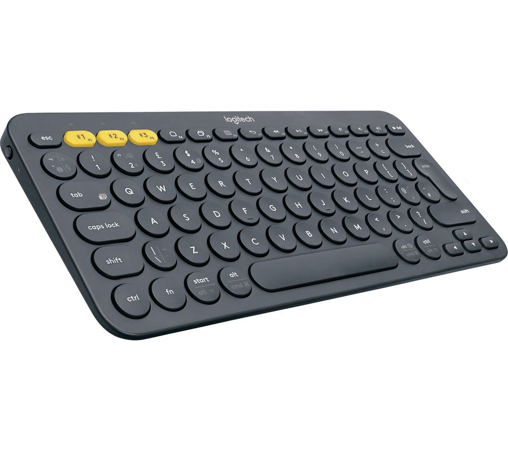 Image of LOGITECH K380 Wireless Keyboard - Dark Grey