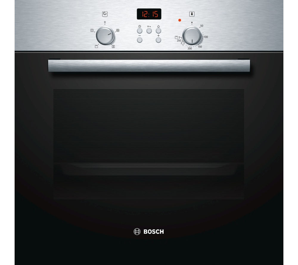 Image of BOSCH HBN331E4B Electric Oven - Stainless Steel, Stainless Steel