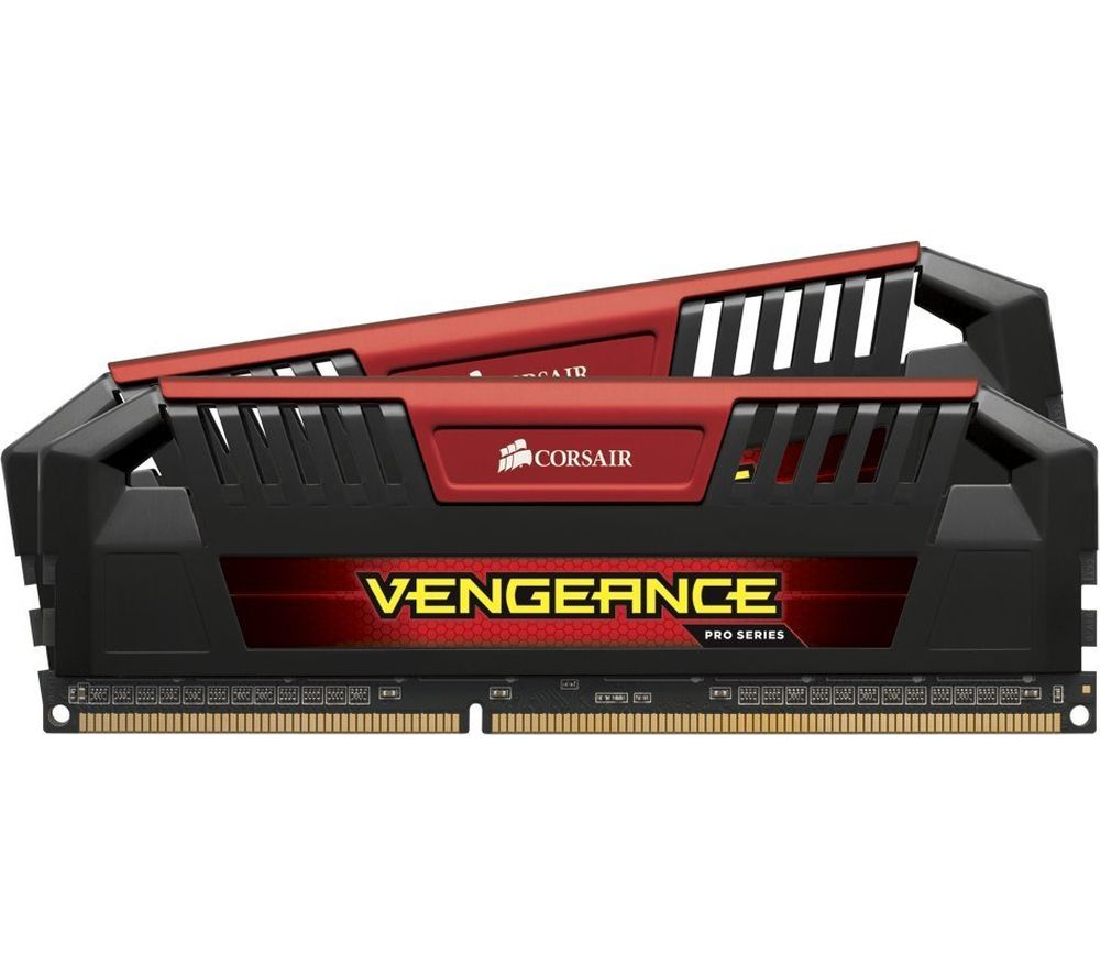 CORSAIR Vengeance Pro Red DDR3 PC Memory - 2 x 8 GB DIMM RAM