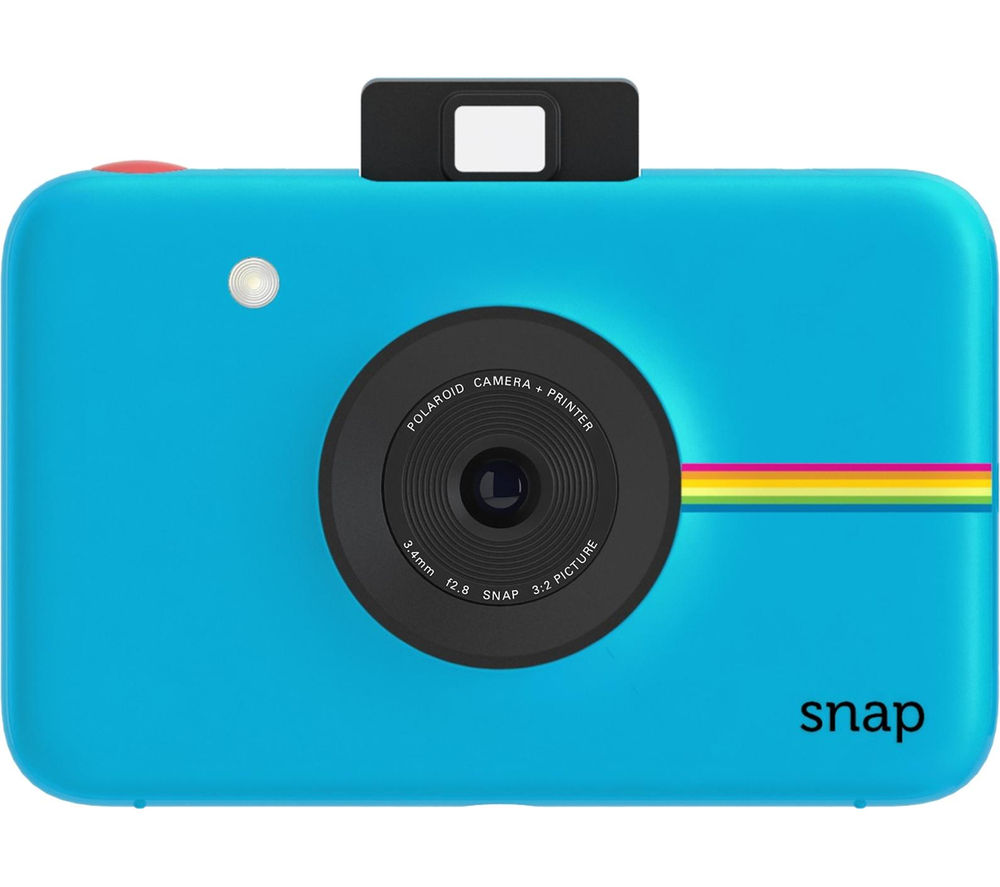POLAROID Snap Instant Camera - Blue + Camera Case - Black + Extreme Plus Class 10 SD Memory Card Twin Pack - 16 GB