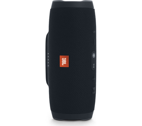 JBL Charge 3 Portable Bluetooth Wireless Speaker - Black