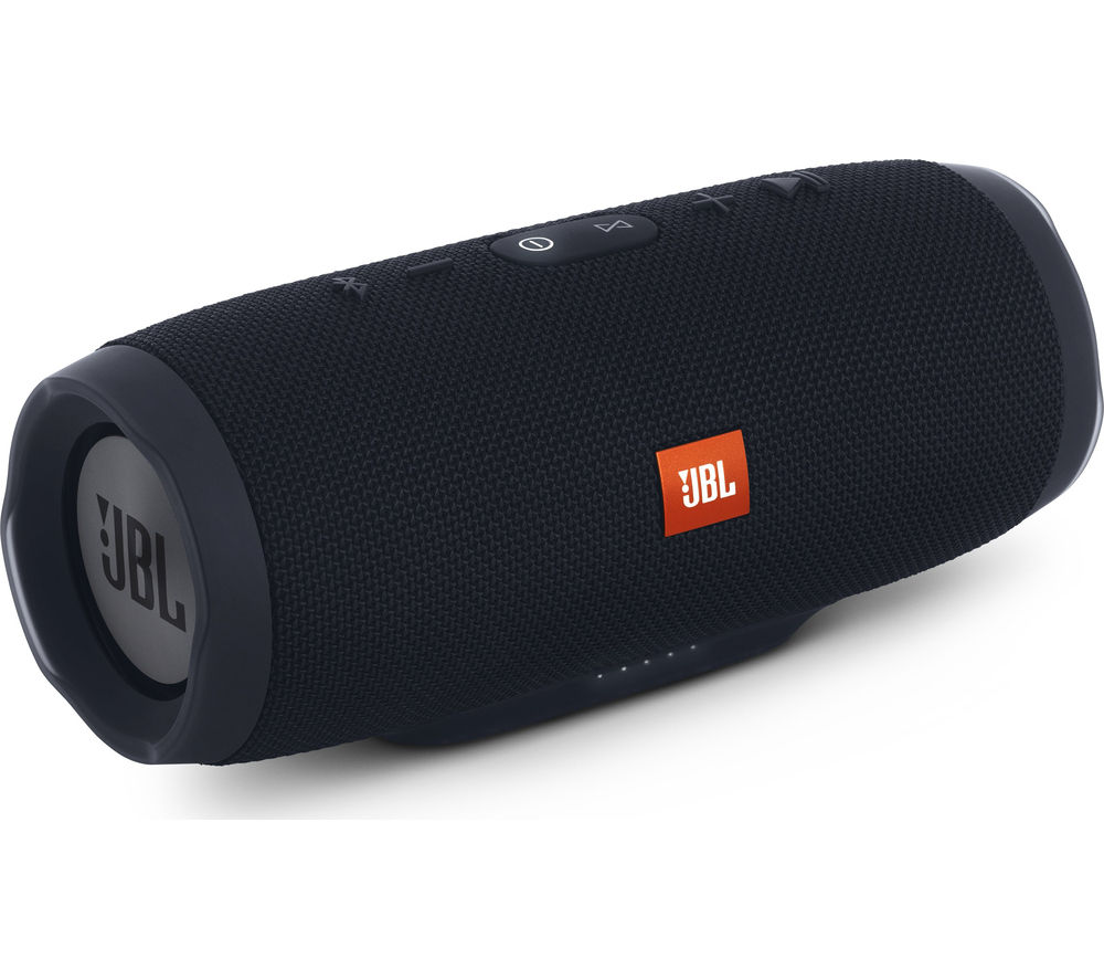 c496ce14e10 Buy JBL Charge 3 Portable Bluetooth Wireless Speaker - Black | Free  Delivery | Currys