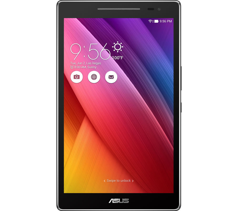 "ASUS ZenPad Z380M 8.0"" Tablet - 16 GB, Grey + LiveSafe Premium 2018 - 1 user / unlimited devices for 1 year + Cloud Storage for Tablets & Mobiles - 200 GB, 1 year"